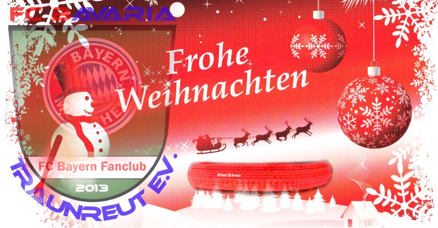 Fc Bayern Wünscht Frohe Weihnachten.Fc Bavaria Traunreut E V Startseite